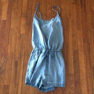 7d62a1febbc GAP Pants - Gap 1969 tencel cami denim shorts romper sz medium